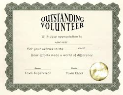 volunteer certificate template free printable volunteer appreciation certificates images femalecelebrity