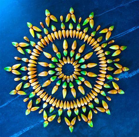 mandala klein gorgeous mandala made from flowers and plants kathy klein