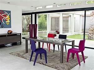 Chaises Originales Salle A Manger : choisir les chaises salle manger design 20 id es ~ Teatrodelosmanantiales.com Idées de Décoration