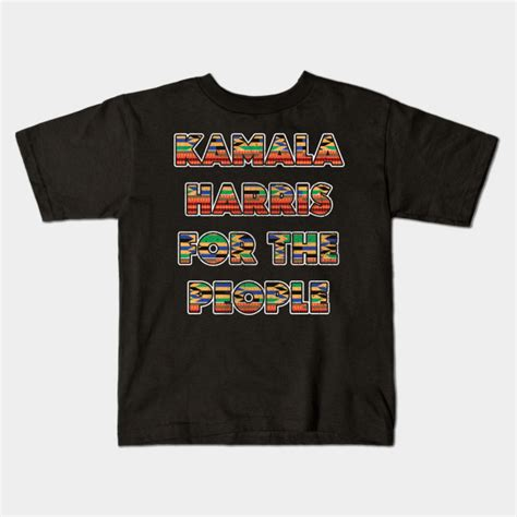 Harris is the father of kamala harris. Kamala Harris for the people quote 2020 gifts - Kamala Harris For The People - Kids T-Shirt ...