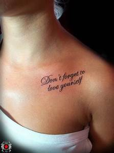 How to Choose Your Quote Tattoos - Pretty Designs