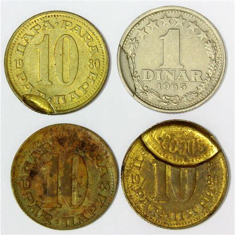 sfr si鑒e sfr jugoslavija 10 par 1 dinar 1965 1980 kovne napake