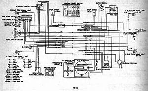 Honda Cl70 Wiring Diagram  61698