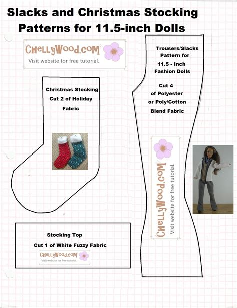 Free Printable Barbie Doll Clothes Sewing Patterns