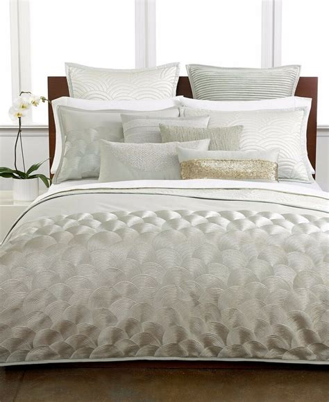 Hotel Collection Coverlet by Hotel Collection Finest Bedding Seafan King Comforter