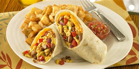 cuisine of california delicious burritos for breakfast