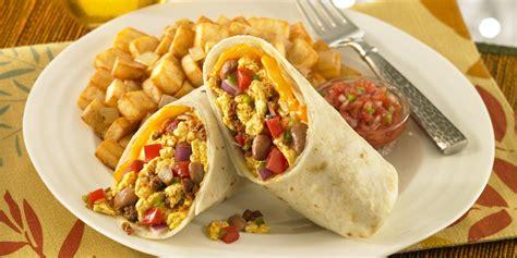 cuisine of california delicious burritos for breakfast