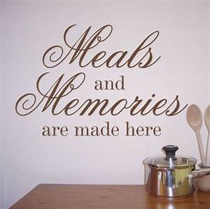kitchen quotes weneedfun With kitchen colors with white cabinets with sticker wall art quotes