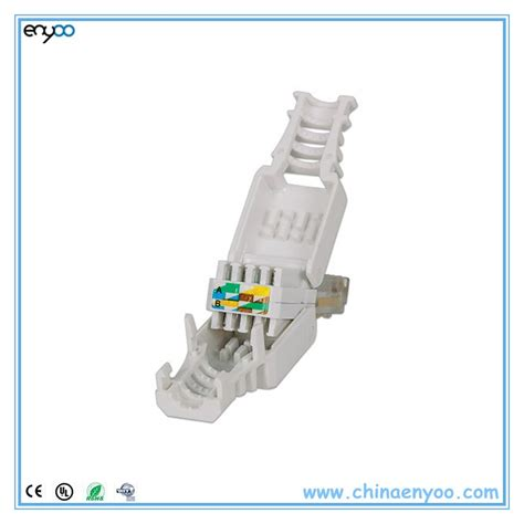 Rj45 Wiring Solution by Tool Less Rj45 Cat6 Utp Gigabit Ethernet Snap In Connector
