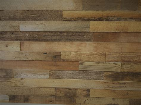 Wand In Holzoptik by Diy Reclaimed Wood Accent Wall Brown 2 Inch Wide