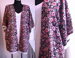 tuto couture kimono d39ete avec franges patron gratuit With patron de robe facile