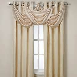 buy insola 174 odyssey insulating waterfall window valance in