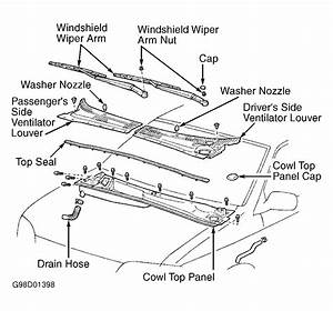 Service Manual  2001 Toyota Camry Removal Diagram