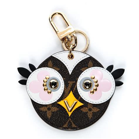 louis vuitton monogram lovely birds bag charm