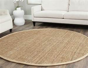 tapis salon rond With tapis rond pour salon