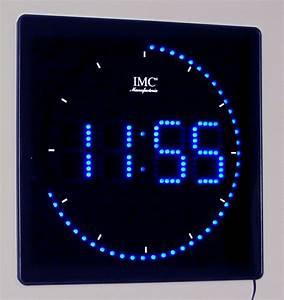 Uhr Mit Zahlen : led wanduhr mit zahlen blau quadratisch digital uhr ~ A.2002-acura-tl-radio.info Haus und Dekorationen