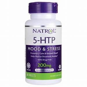 Natrol 5-htp Time Release 200 Mg 30 Tabs