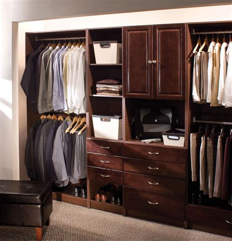 solid wood closet organizer systems decosee