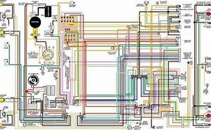 1972 Ford Torino  U0026 Ranchero Color Wiring Diagram