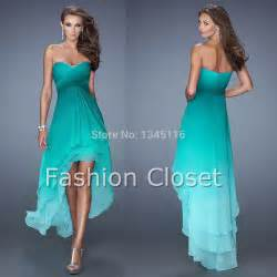 sell bridesmaid dress 2015 new design best selling ombre chiffon front back prom dresses bridesmaid gowns