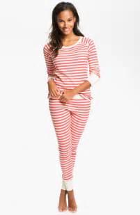 hue huetopia thermal pajamas nordstrom