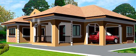 Ghana House Plans  Adehyi House Plan