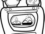 Oven Clipart Preschool Clip Webstockreview sketch template