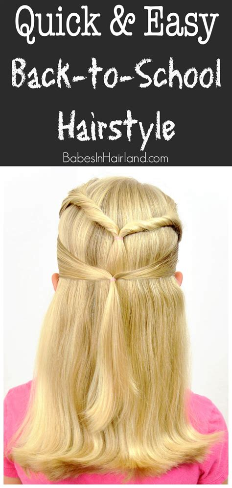 Back To School Hairstyles For by Back To School Hairstyles Hairstylo