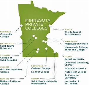Locations | Minnesota Private Colleges