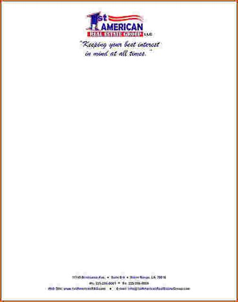 business letterhead examples teknoswitch
