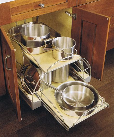 kitchen pot and pan storage design craft cabinetry organization cabinetsextraordinaire 8397