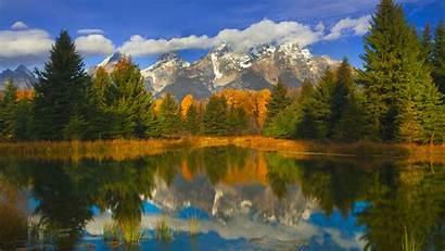 Smoky Mountain Scenes Winter Mountains Autumn National