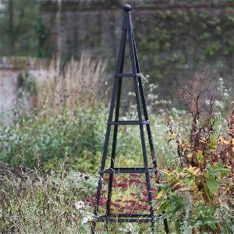 metal garden obelisk steel pyramid obelisk from garden structures allotment shop