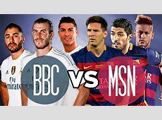 MSN vs BBC 2015 2016 Barcelona vs Real Madrid LA