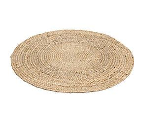 tappeti juta tappeto tondo intrecciato a mano in juta eldoro d 100 cm