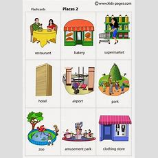 Learn English Vocabulary Places In The City  Eslbuzz Learning English