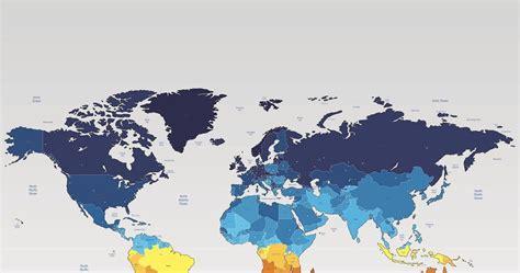 peta geografis dunia vector