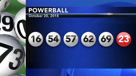 winning numbers drawn  powerball game abccom