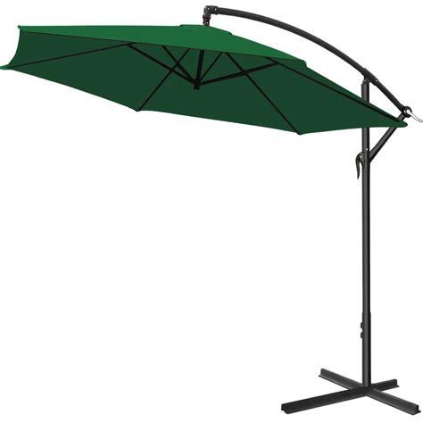 parasol with crank 216 300cm garden sunshade