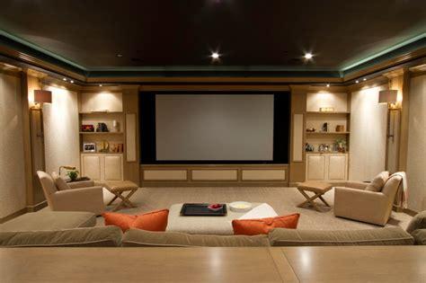 media room contemporary home theater dc metro