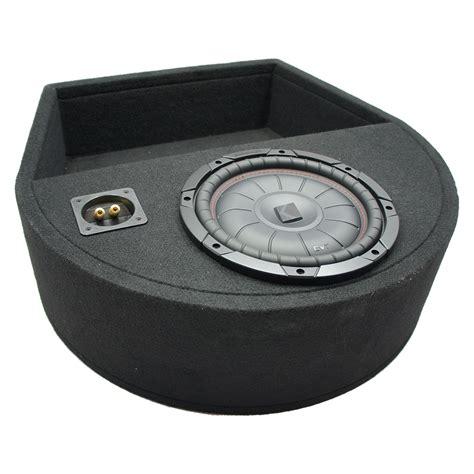 universal replacement spare tire kicker compvt cvt10 single 10 sub box 2 ohm 709100412088 ebay