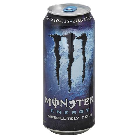 Monster Cable Energy Drink Absolutely Zero 16 fl oz