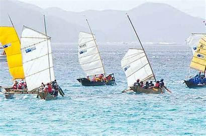 Sailing Sail Race Island Animations Sabani Zamami
