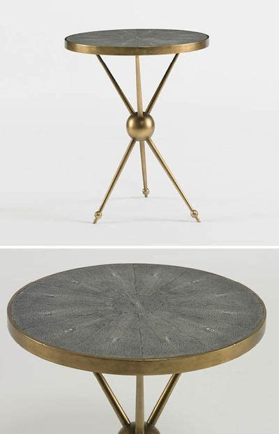 antique brass table ls tripod antique brass and side tables on pinterest