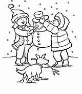Coloring Snowman Snow Snowy Making Winter Printable Drawing Shopkins Plow 9baa Scene Crush Sheets Let Getdrawings Worksheet Getcolorings Houses Illustrations sketch template
