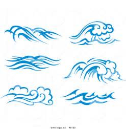 Free Clip Art Black and White Ocean Waves