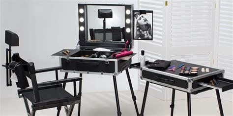 Why Get A Makeup Station With Lights Bamboo Chair Repair Rocking Cover Rent Chairs For Party White Rolling Desk Breakroom Tables And Stackable Robsjohn Gibbings Sling Fabric By The Yard