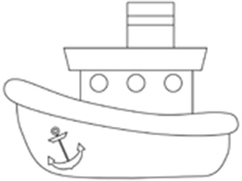 Outline Of Boat To Colour by Boats And Ships Coloring Pages