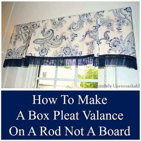 best 25 box pleat valance ideas on valance