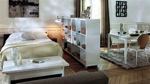 Avoir Son Espace Chambre Dans Le Salon Diaporama Photo
